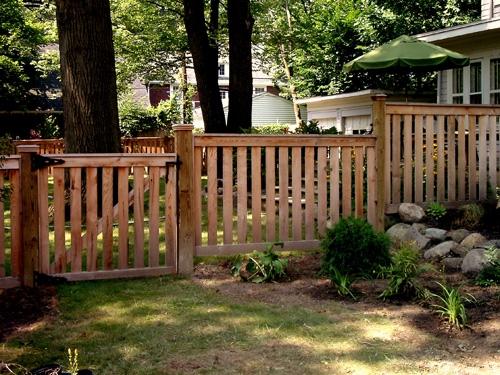 Wood Henry Fence
