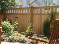 Sanibel Custom Cedar Fence
