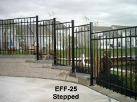 Alternating Picket Top EFF-25 Stepped