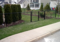 Black Chain Link and Gates
