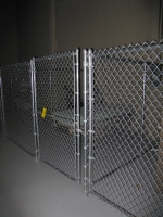 Galvanized Chain Link Indoor Cages