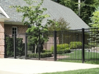 Flat Top EFF-20 with Arched Gate 6-ft High